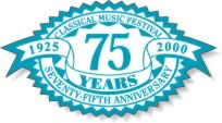 Sample of a special occasion label celebrating 75 years in business